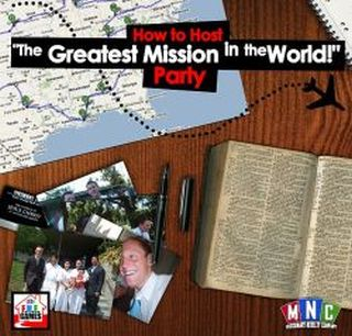 How To Host The Greatest Mission In The World Party Lds Mormon Game
