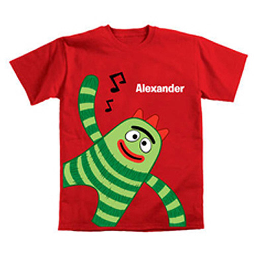 Personalized Yo Gabba Gabba! Brobee Music Toddler Boys' T-Shirt