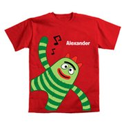 Personalized Yo Gabba Gabba! Brobee Music Toddler Boys' T-Shirt