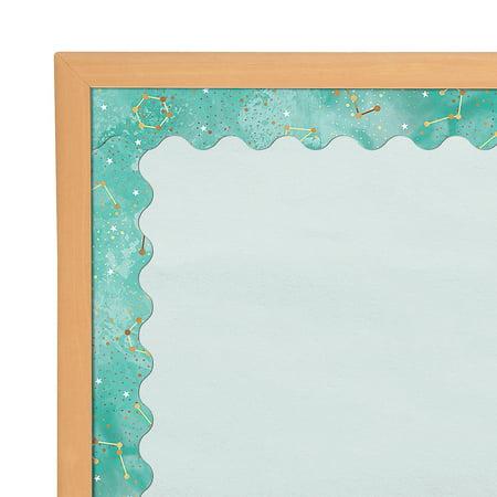 Fun Express - Galaxy Constellations Bb Borders - Educational - Classroom Decorations - Bulletin Board Decor - 13 Pieces Classroom Bulletin Board Decorations