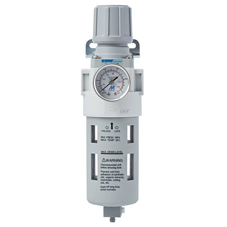 Compressed Air Filter Regulator Combo, 1/2