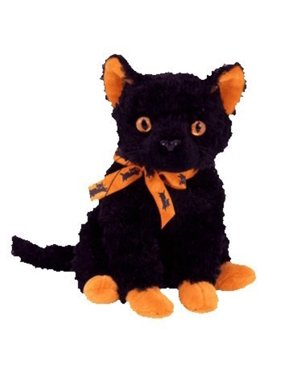 TY Beanie Baby - FRAIDY the Black Cat (6 inch)