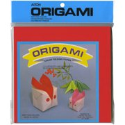 """Origami Paper 7""""X7"""" 100 Sheets-Assorted Colors"""