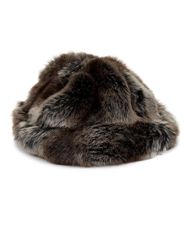 Faux Fur Tundra Hat