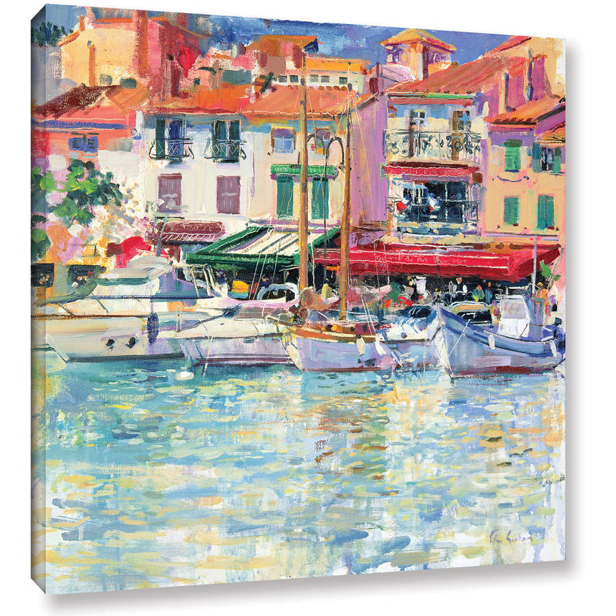 "ArtWall Peter Graham ""Mirabeau"" Gallery-Wrapped Canvas Art"