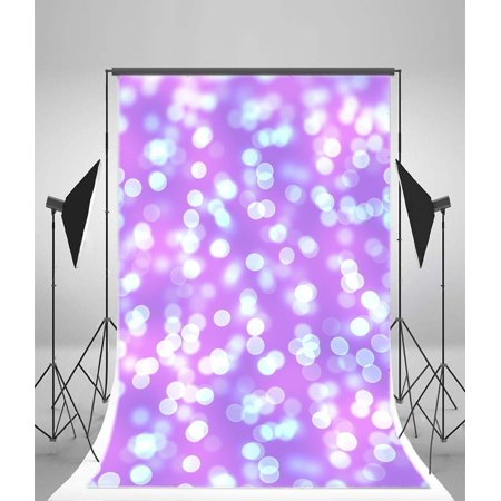 MOHome Polyster Photography Bokeh Backdrop 5x7ft Shinning Dots Dreamy Speckle Children Kids Photographic Background Portraits Shooting (Dreamy Dots)