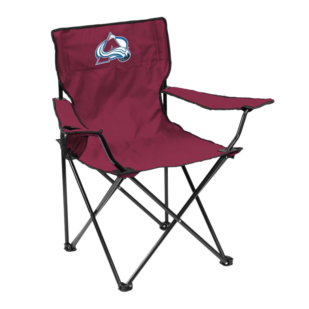 Colorado Avalanche Adult Quad Folding Logo Chair