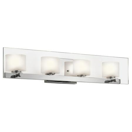 Kichler 45173 Chrome Como 27 75 Wide Single Bulb Bathroom
