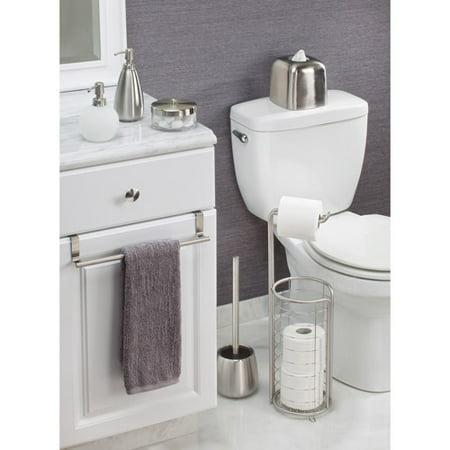 hand towel holder. InterDesign Forma Over-the-Cabinet Bathroom Hand Towel Bar Holder, 14\ Holder 3