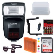 Best Canon Flashes - Canon Speedlite 470EX-AI Flash with 64GB Deluxe Accessory Review