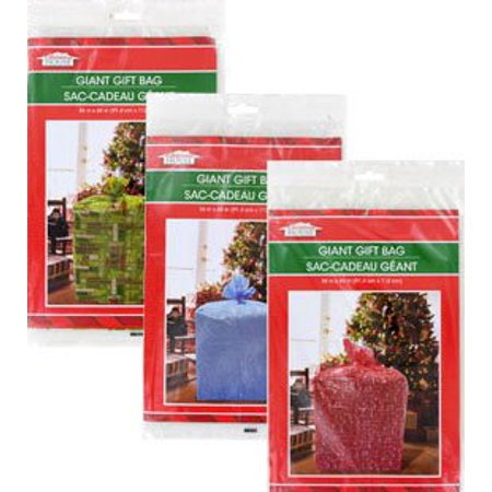 Giant Gift Bags 36 X 44 Set Of 3 Christmas Holiday Extra Large Oversize Cellophane Bags By Christmas House