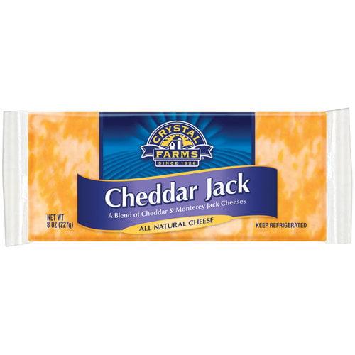 Crystal Farms Cheddar Jack Cheese, 8 oz