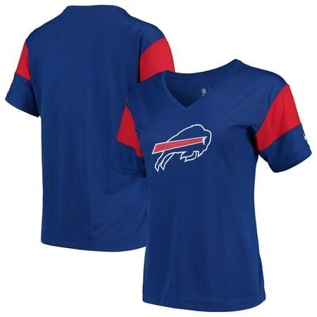 b0fdf1b9 Buffalo Bills Nike Women's Breathe Performance V-Neck T-Shirt - Royal