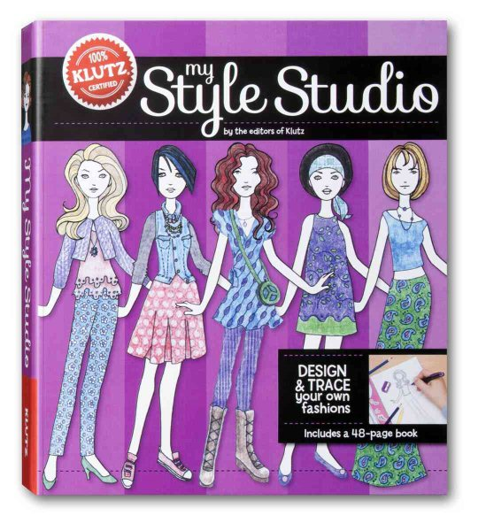 My Style Studio : Design and Trace Your Own Fashions