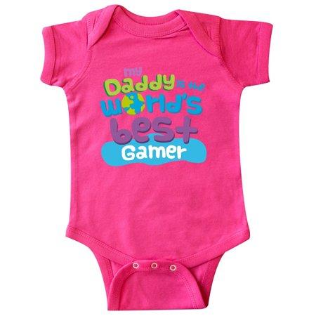 World's Best Gamer Daddy Infant Creeper (Best Cod Gamer In The World)