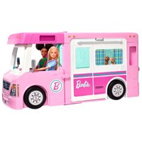 Deals on Barbie Estate 3-In-1 Dreamcamper Vehicle w/Pool GHL93