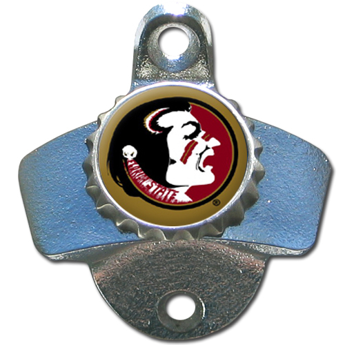 Florida State Seminoles NCAA Wall Mounted Bottle Opener by Siskiyou 079481