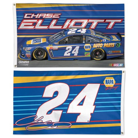 Chase Elliot Napa Auto Parts  24 Two Sided Flag