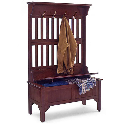 Superieur Hall Tree And Storage Bench, Multiple Finishes