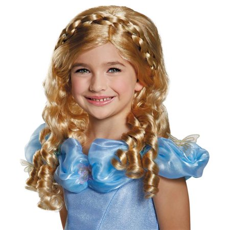 Morris Costumes DG87022CH Cinderella Movie Child Wig - Movie Wigs