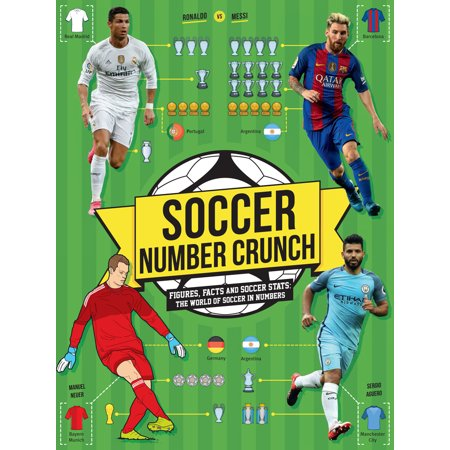 Soccer Number Crunch : Figures, Facts and Soccer Stats: The World of Soccer in (Soccer Position By Numbers In The Field)