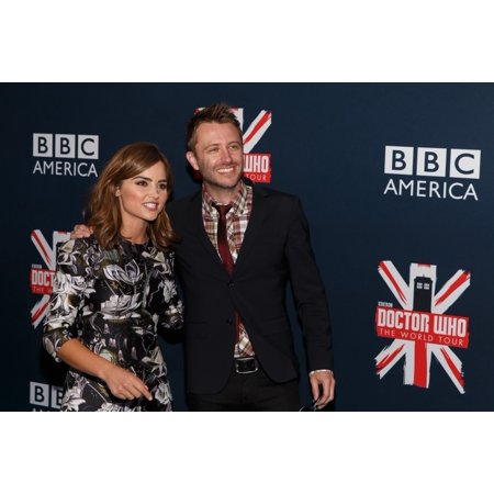 Jenna Coleman Chris Hardwick At Arrivals For Bbc AmericaS Doctor Who Premiere Fan Screening Event Ziegfeld Theatre New York Ny August 14 2014 Photo By Jason SmithEverett Collection Celebrity](Jenna Coleman Halloween)