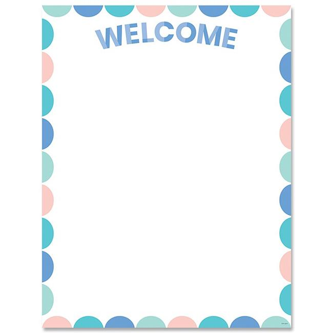 Creative Teaching Press CTP8632 Calm & Cool Welcome Chart