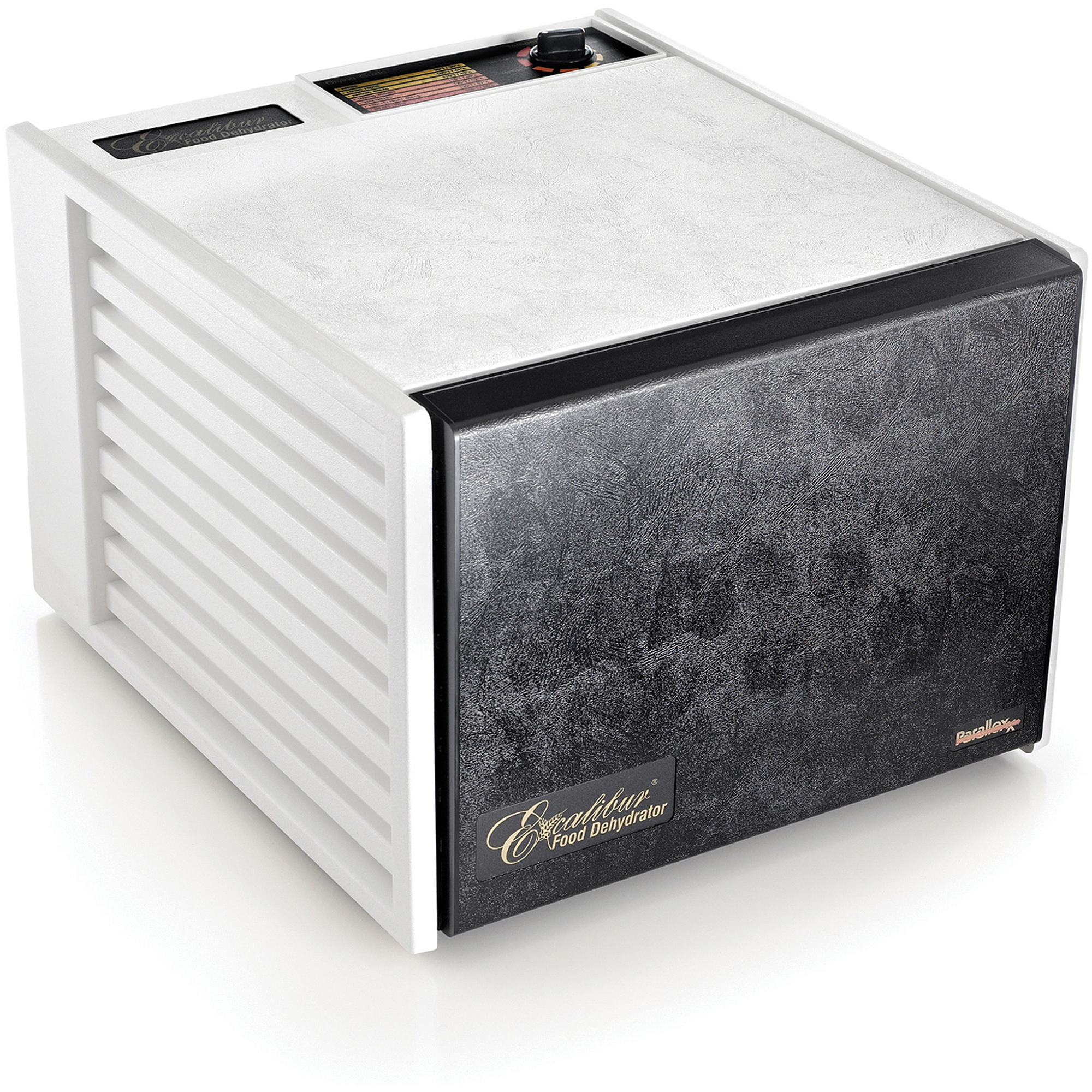 Excalibur 9-Tray Dehydrator Deluxe, White