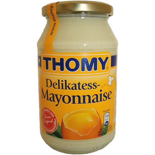 Mayonnaise Thomy, 500ml glass