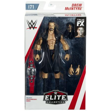 Drew McIntyre - WWE Elite 71 Toy Wrestling Action Figure (Wwe Toys Elites)
