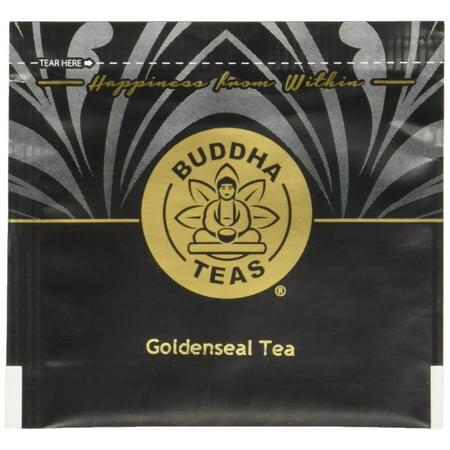 Organic Goldenseal Herb Tea - Kosher, Caffeine-Free, GMO-Free - 18 Bleach-Free Tea Bags 1 pack - Goldenseal Tea Bags