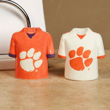 Clemson Tigers Gameday Ceramic Salt & Pepper Shakers - No Size (Tigger Salt And Pepper Shakers)