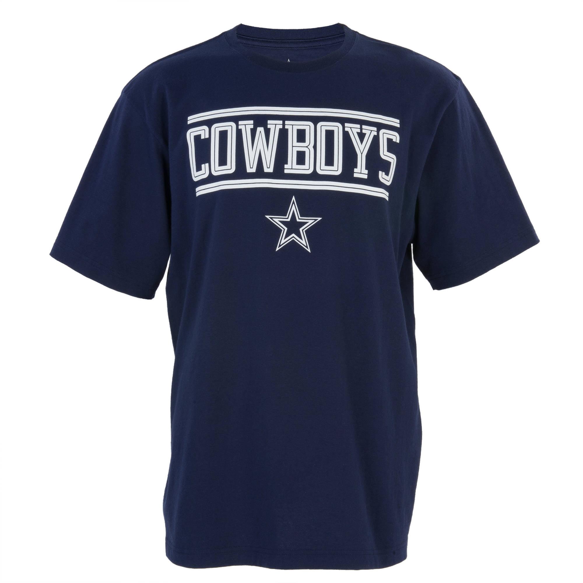NFL Dallas Cowboys Big Men's Crossline Graphic Tee, 2XL