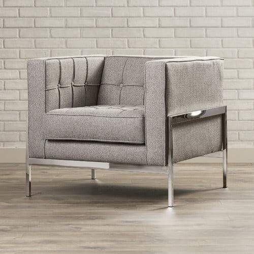 Brayden Studio Bandy Chesterfield Chair