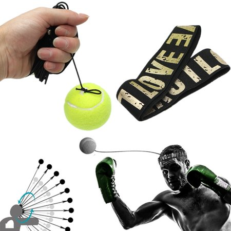 Generic Punch - Fight Ball With Head Band For Reflex Speed Training Boxing Punch MMA Combat Sports Gear Exercise