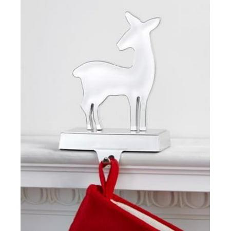 Holiday Lane Silver Deer Stocking Holder ()
