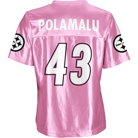 quality design e323a ee45d NFL - Women's Pittsburgh Steelers #43 Troy Polamalu Jersey