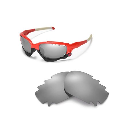 7afa8a1af9 Walleva - Walleva Titanium Polarized Vented Replacement Lenses for Oakley  Jawbone Sunglasses - Walmart.com