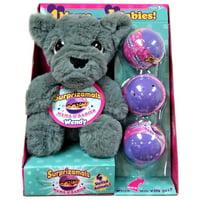 Surprizamals Mama & Baby Wendy Mystery Pack Set [Wolf Plush & 3 Packs]