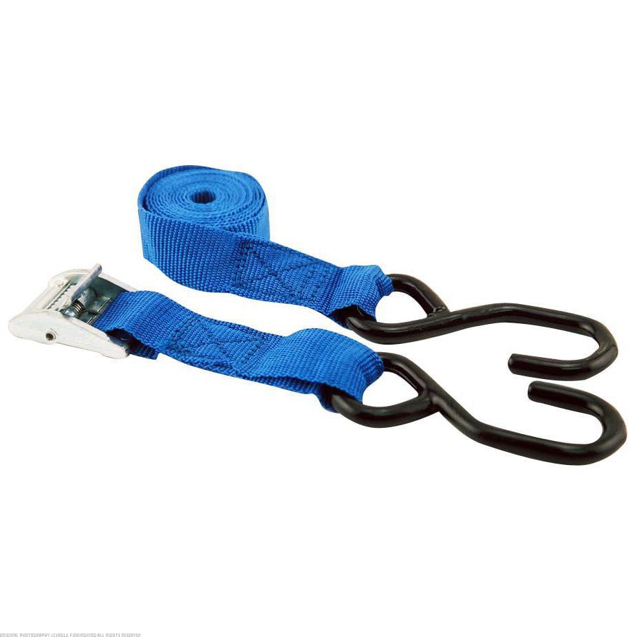 "1"" x 5' Cam Strap Tie Down 300 lb Blue"