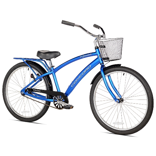 Men's Cruiser Bike by Concord, Riverdale - 26 Inches, S/M