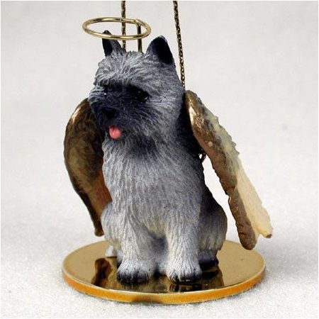 Cairn Terrier, Gray Tiny Ones Dog Angels (2 in), Each figurine is carefully hand painted for that extra bit of realism. By Conversation Concepts Ship from US