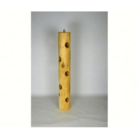 Cedar Squirrel Feeder - Stovall Products SP13FL 22 inch Cedar Suet Post - Large