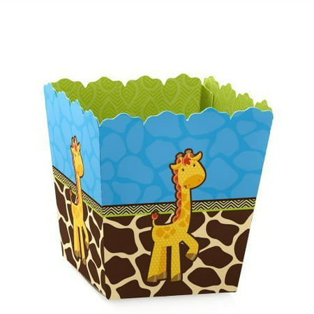 Giraffe Boy - Party Mini Favor Boxes - Baby Shower or Birthday Party Treat Candy Boxes - Set of 12](Party Favors Baby Shower Boy)