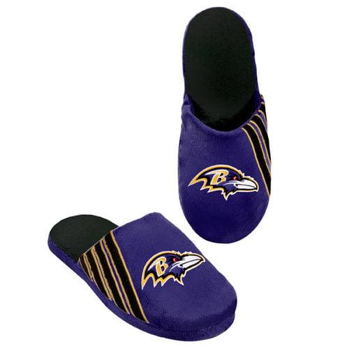 NFL - Baltimore Ravens Hard Sole Stripe Slipper