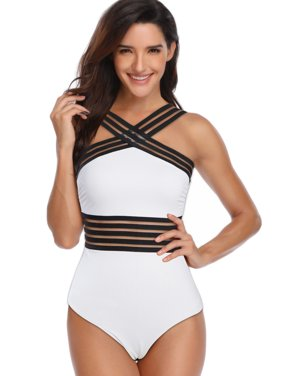 135fac15762 Product Image US Sexy Ladies Girls Women Monokinis Swimsuit Tankini One  Piece Swimwear Beachwear Bathing Suit Black White