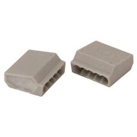 Push In Wire Connectors Gray 500 Per Bag