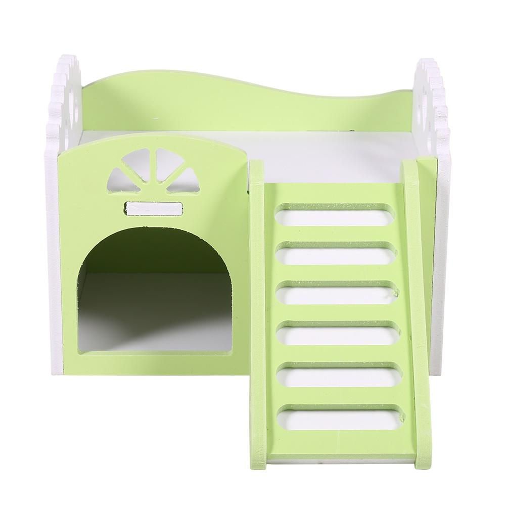 VBESTLIFE Pet House Guinea Pig House,3Colors Pet Hamster Rat Small Animal Castle Sleeping House Nest Exercise... by