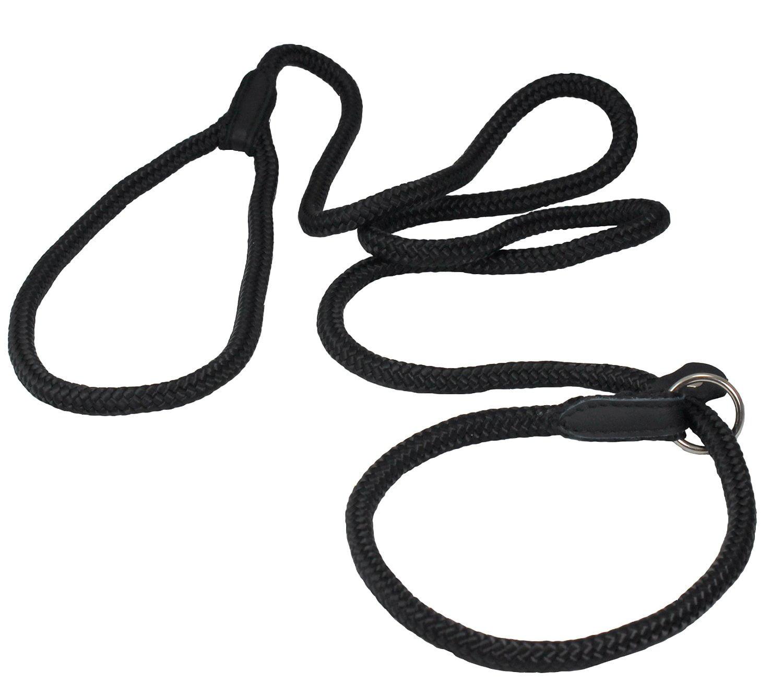 Dogs My Love Nylon Rope Slip Dog Lead Collar And Leash British Style