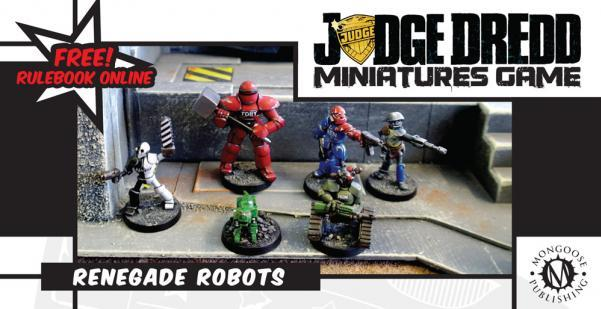 Renegade Robots New by Mongoose Publishing